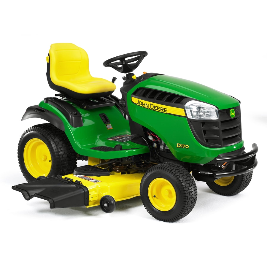 John Deere D170 26-HP V-Twin Hydrostatic 54-in Riding Lawn Mower
