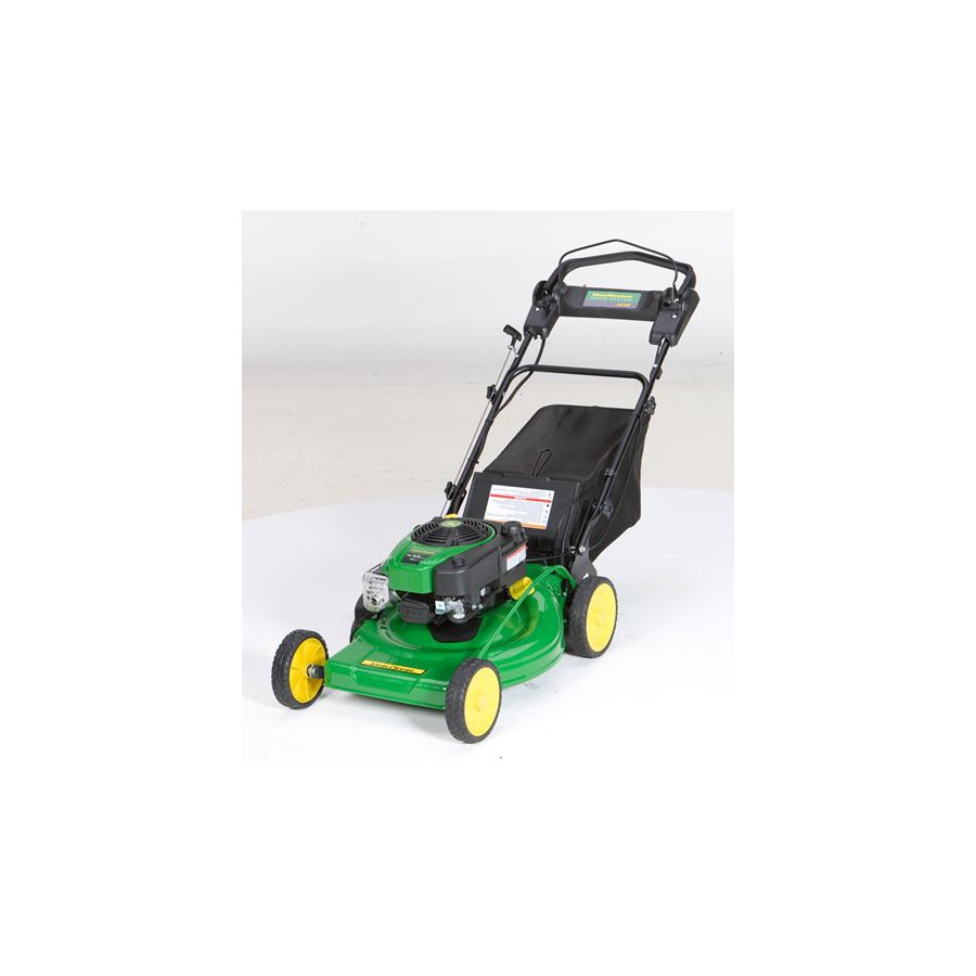 John Deere Js48 190cc 22-in Key Start Self-Propelled Rear Wheel Drive Gas Lawn Mower with Mulching Capability