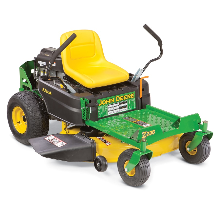 John Deere Eztrak 20 HP V-Twin Dual Hydrostatic 42-in Zero-Turn Lawn Mower with Briggs & Stratton Engine (CARB)