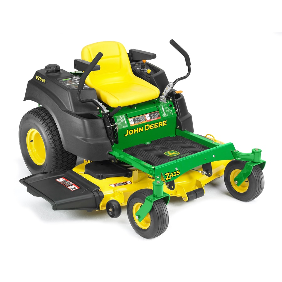 John Deere Eztrak 22-HP V-Twin Dual Hydrostatic 54-in Zero-Turn Lawn Mower