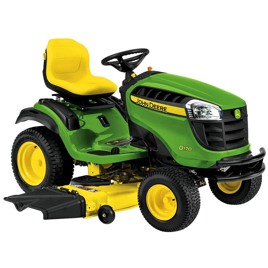 John Deere D140 22 Hp V Twin Hydrostatic 48 In Riding Lawn Mower