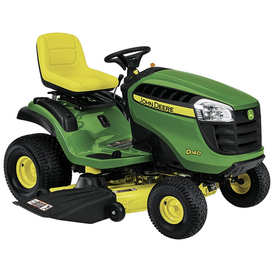 John Deere D140 Carb 22-HP V-Twin Hydrostatic 48-in Riding Lawn Mower (CARB)