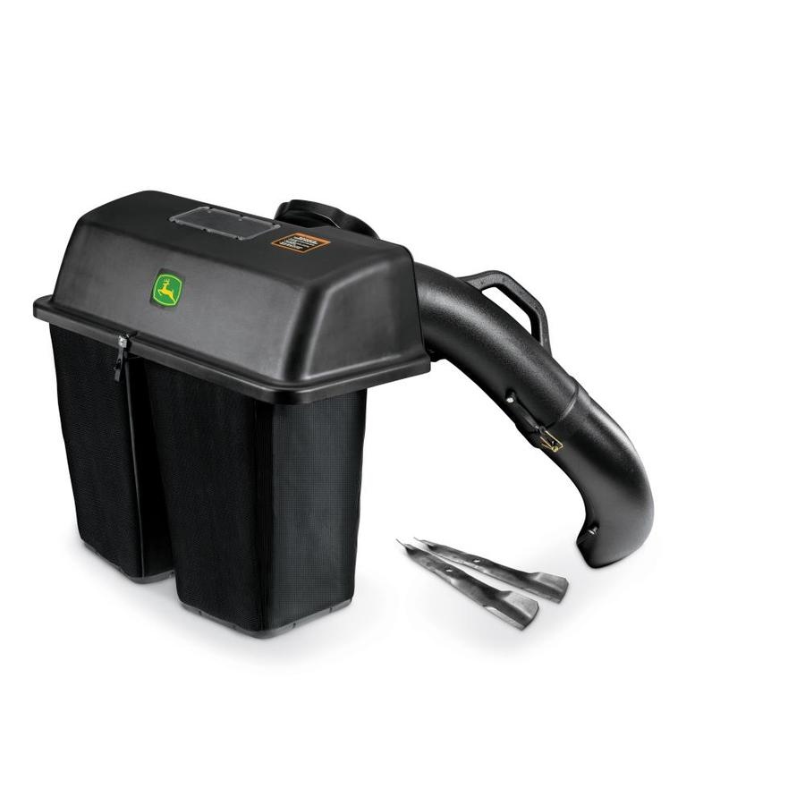 John Deere 100 Series >> Shop John Deere 100 Series 6.5-Bushel Twin Bagger for 42-in Tractor at Lowes.com