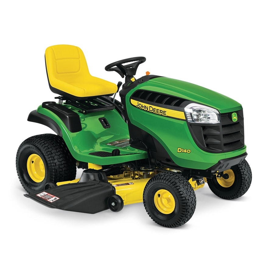 Shop John Deere D140 22 Hp V Twin Hydrostatic 48 In Riding