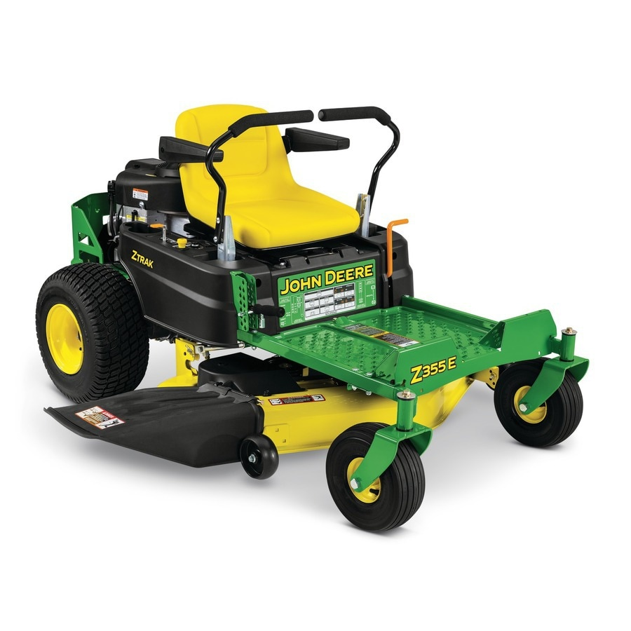 John Deere ZTRAK Z355E 22-HP V-Twin Dual Hydrostatic 48-in Zero-Turn Lawn Mower (CARB)