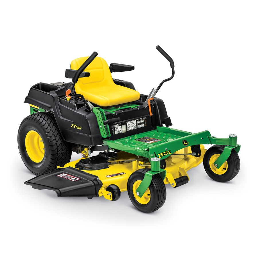 John Deere ZTRAK Z525E 22-HP V-Twin Dual Hydrostatic 54-in Zero-Turn Lawn Mower (CARB)