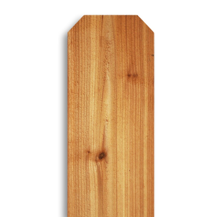 western red cedar dogear wood fence picket common 58