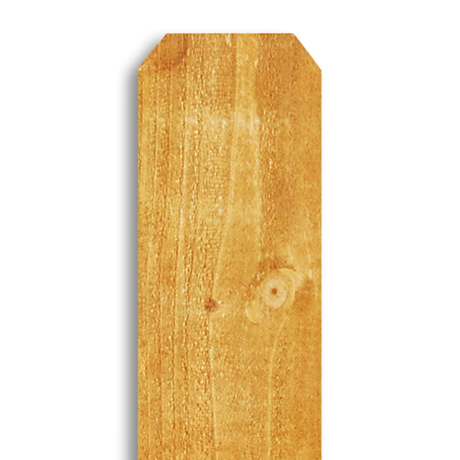 Severe Weather (Common: 5/8-in x 5-1/2-in; Actual: 0.575-in x 5.5-in) Whitewood Fence Picket