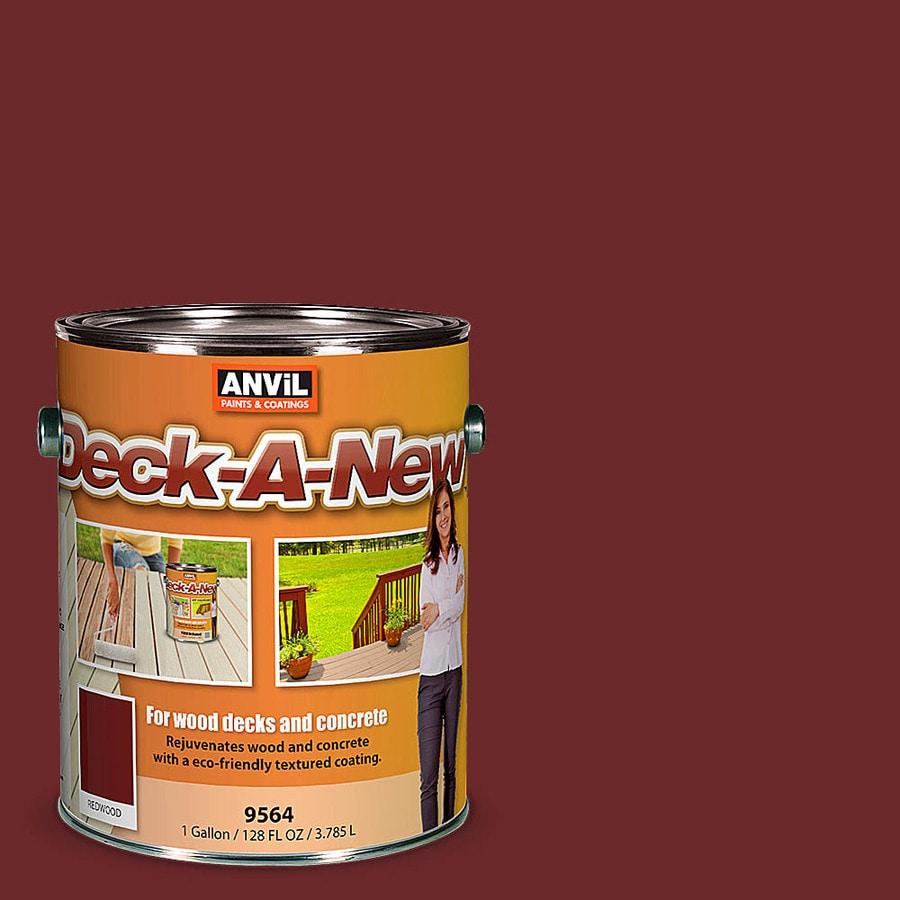 Anvil Paints Redwood Restoration Textured Solid Exterior Stain (Actual Net Contents: 128-fl oz)