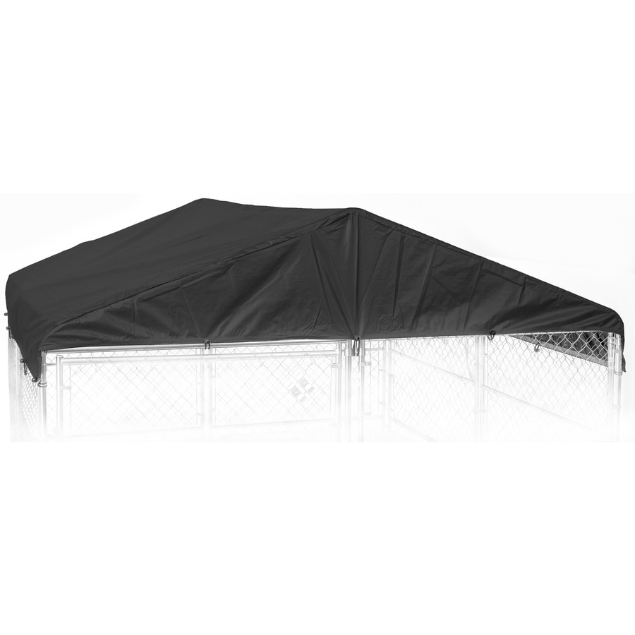 Weatherguard 96-in L x 78-in W Polyester Roof Kit Kennel Cover