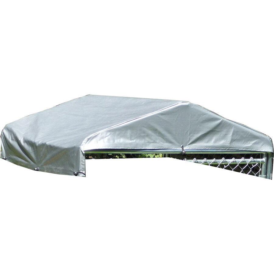 Lucky Dog 60-in L x 60-in W Plastic Roof Kit Kennel Cover