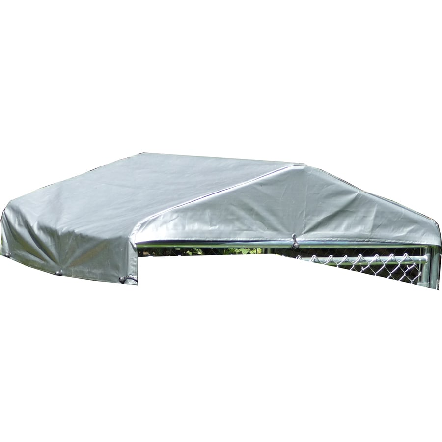 Lucky Dog 60 In L X 60 In W Plastic Roof Kit Kennel Cover