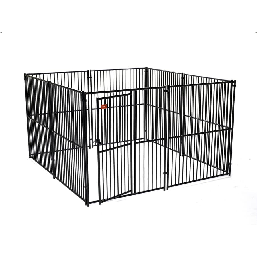 lucky dog 10ft x 10ft x 6ft outdoor dog kennel