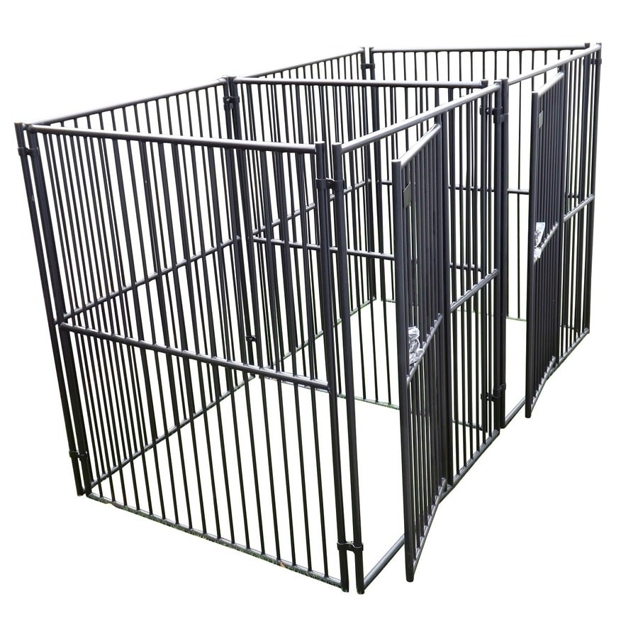 Shop Lucky Dog 5 Ft X 5 Ft X 6 Ft Outdoor Dog Kennel