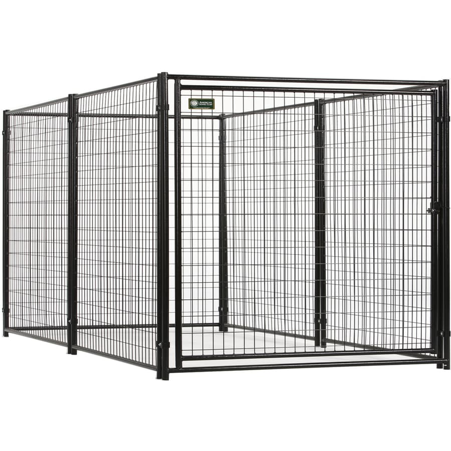 8-ft x 4-ft x 4-ft Outdoor Dog Kennel Preassembled Kit