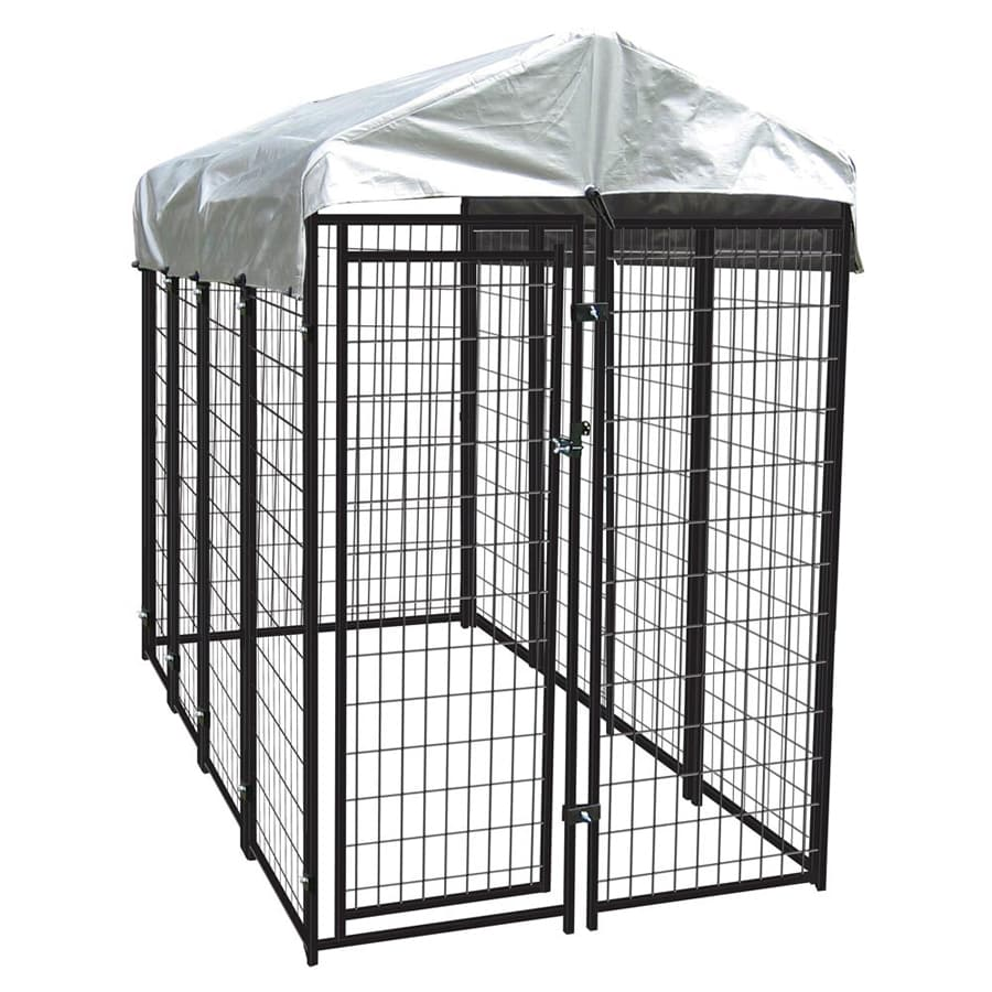 Aspca 4 W X 8 L X 6 H Uptown Welded Wire Kennel At Lowes Com