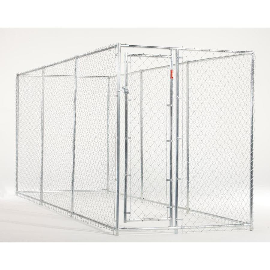 ASPCA 10'W x 10'L/5'W x 15'L x 6'H 2-in-1 Combo Kennel