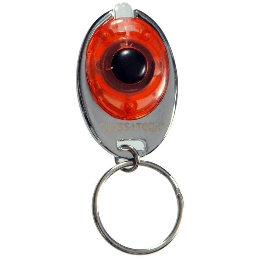 The Hillman Group Red Micro-light Keychain