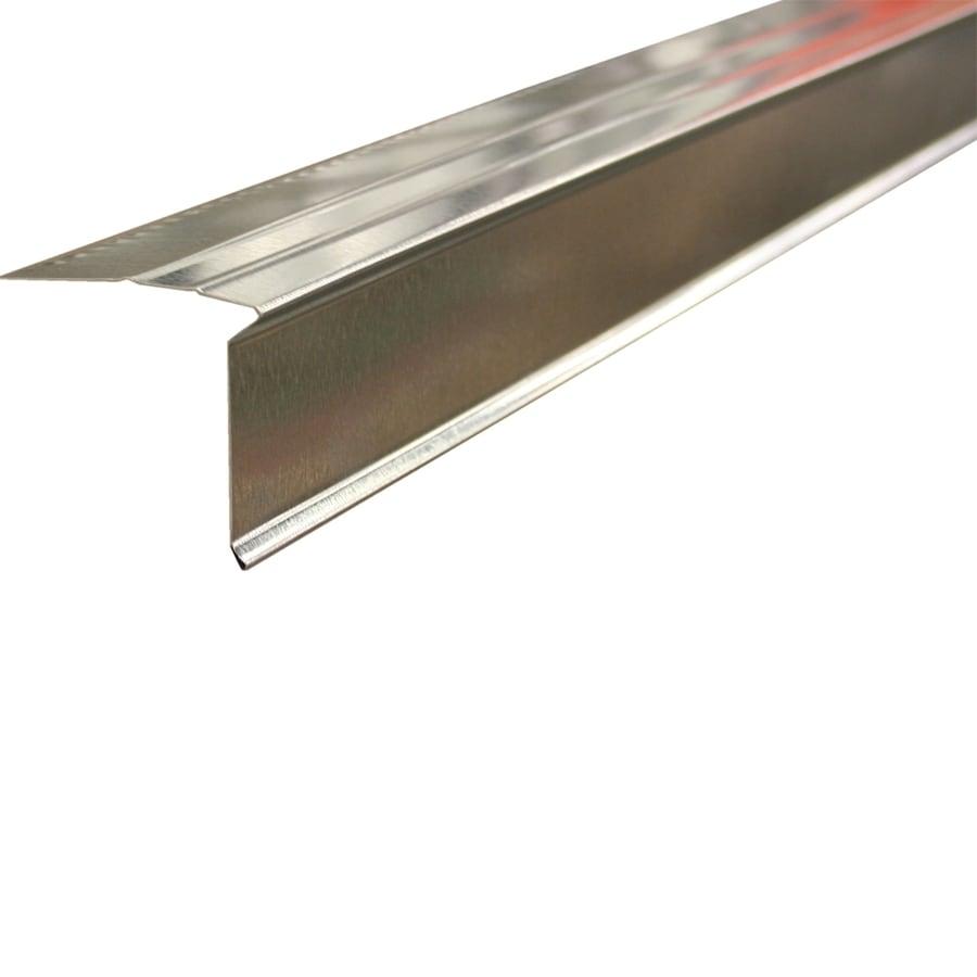 Union Corrugating 2.75-in x 10-ft Galvanized Steel Drip Edge