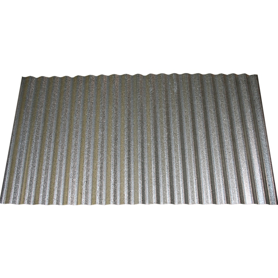 Attractive Union Corrugating 2.33 Ft X 8 Ft Corrugated Steel Roof Panel
