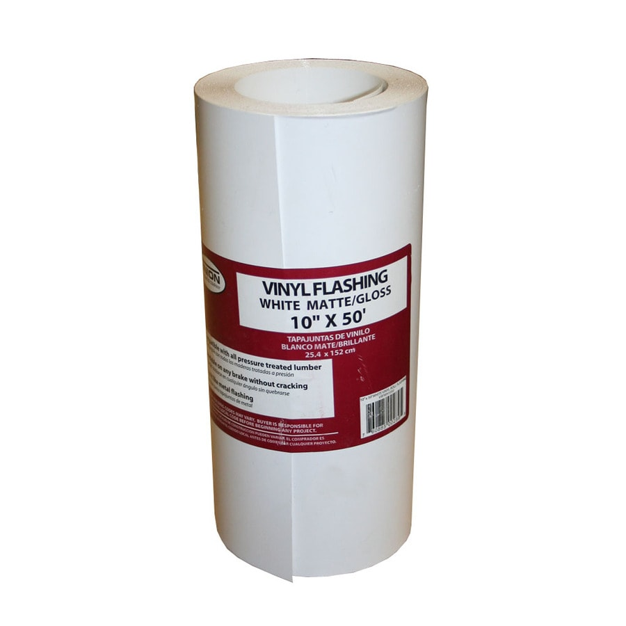 Union Corrugating 10 In X 50 Ft Vinyl Roll Flashing At