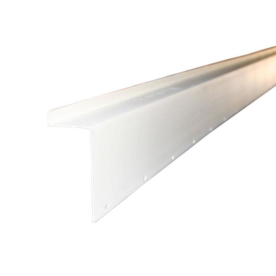 Union Corrugating 3.25-in x 10-ft Plastic Sheet Flashing