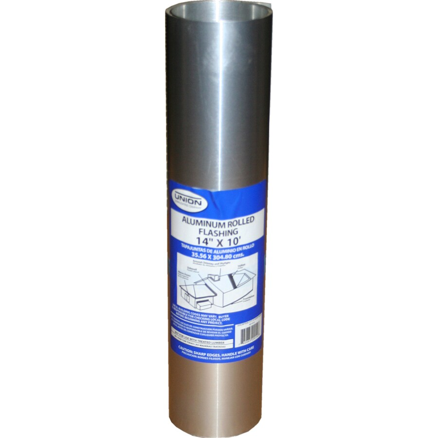 Union Corrugating 14-in x 10-ft Aluminum Roll Flashing