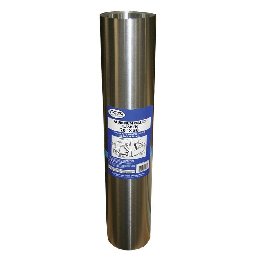 Union Corrugating 20-in x 50-ft Aluminum Roll Flashing