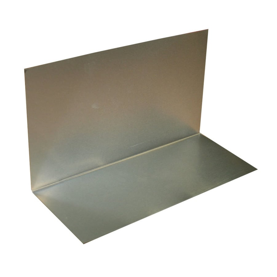 Union Corrugating 3 In X 4 In Aluminum Step Flashing At