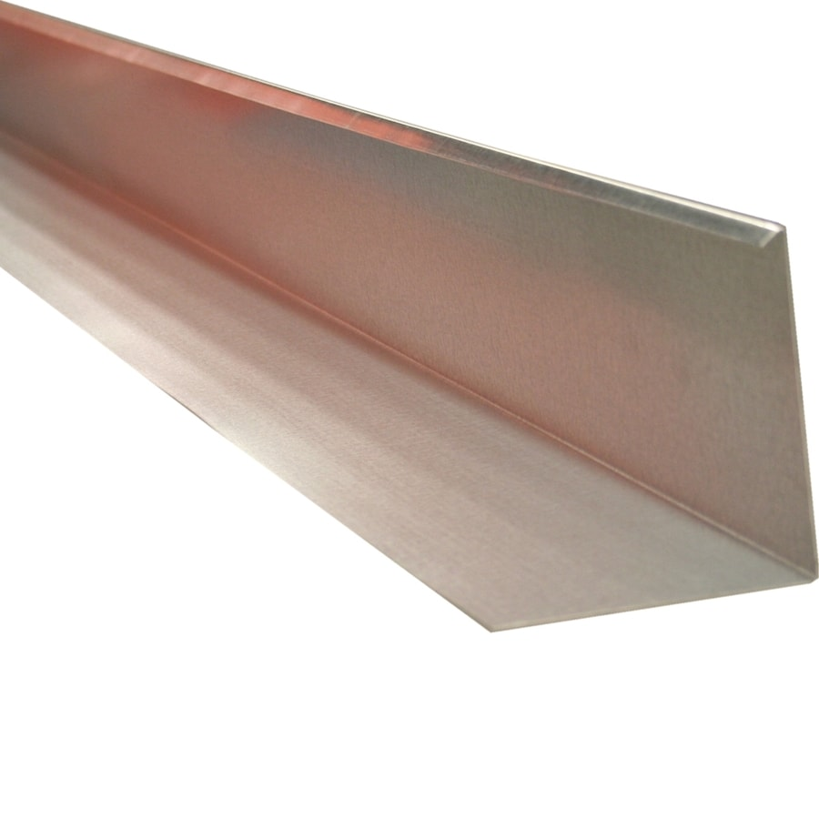 Union Corrugating 4.5-in x 4-in Galvanized Steel Step Flashing
