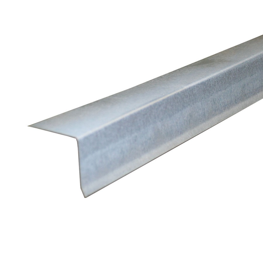 Union Corrugating 1.5-in x 10-ft Galvanized Steel Drip Edge