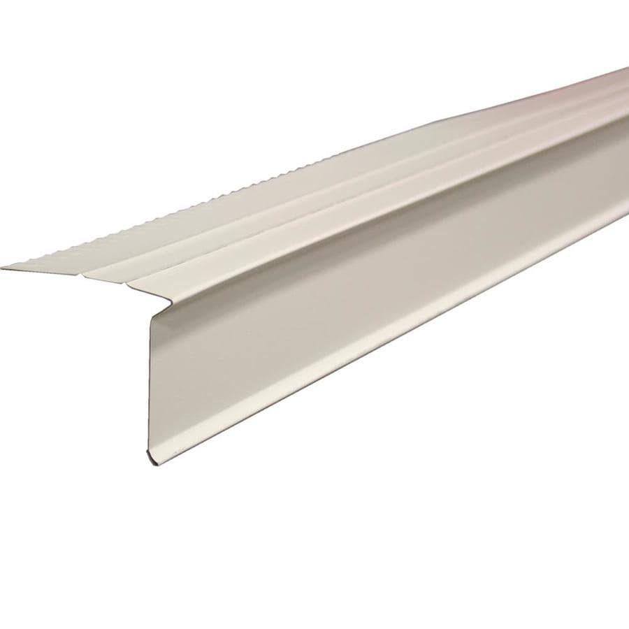 Union Corrugating 4-in x 10-ft Galvanized Steel Drip Edge