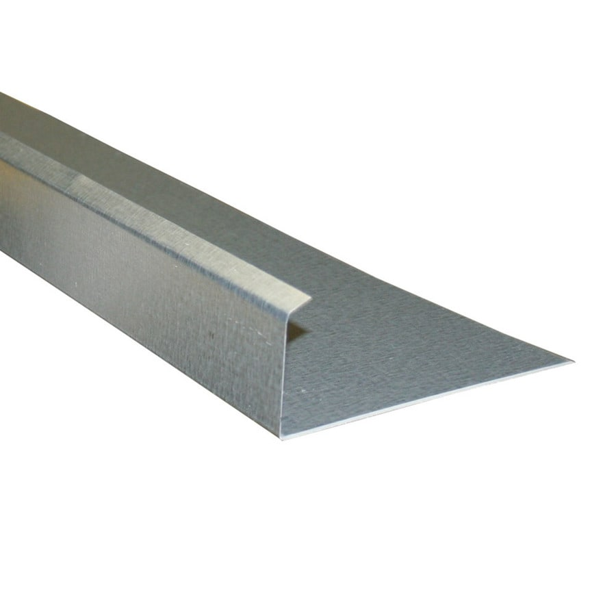Union Corrugating 5-in x 10-ft Galvanized Steel Drip Edge