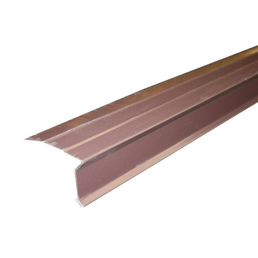 Union Corrugating 3-in x 10-ft Aluminum Drip Edge