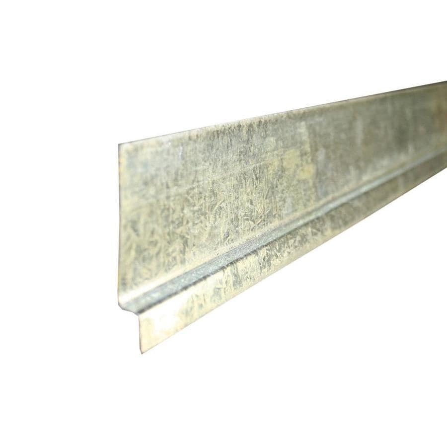 Union Corrugating 2-in x 0.38-in x 120-in Galvanized Steel Z Flashing