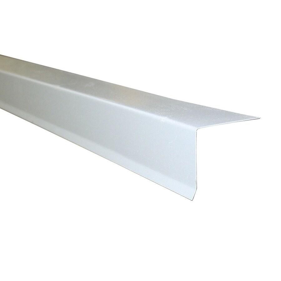 Union Corrugating 1.5-in x 10-ft Galvanized Steel Drip Edge