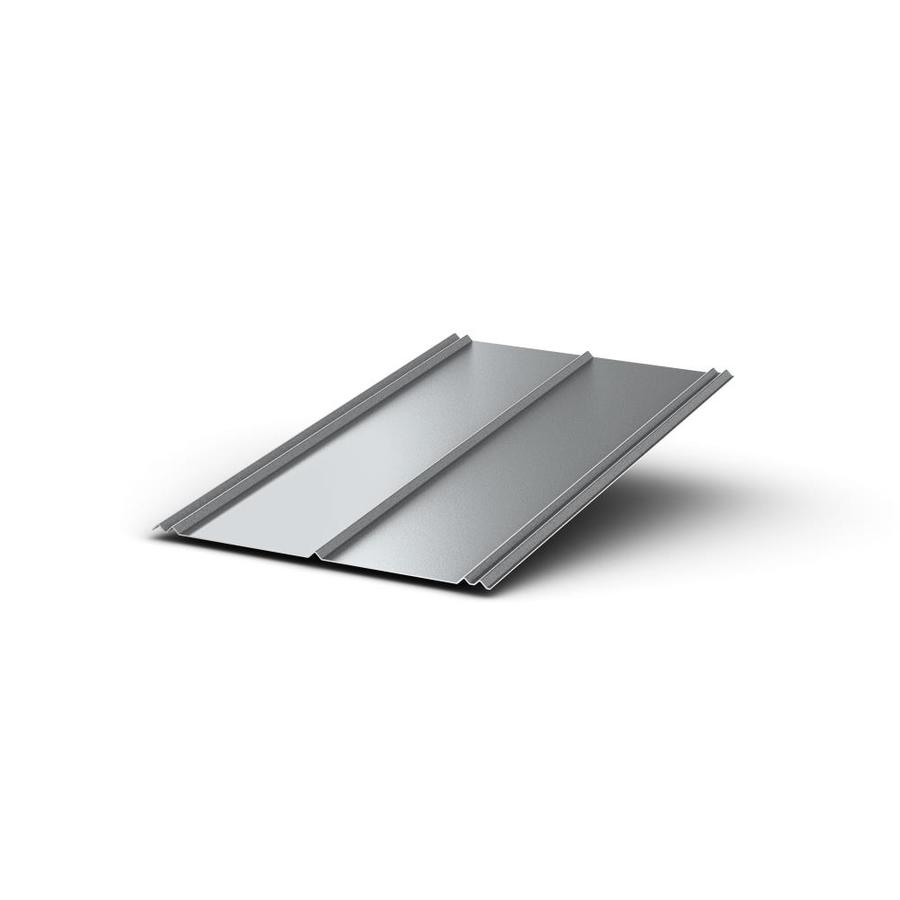 Union Corrugating 2.33-ft x 8-ft Ribbed Steel Roof Panel