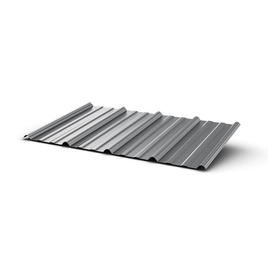 Lowe S Metal Roof Panels : Shop union corrugating ft ribbed steel roof