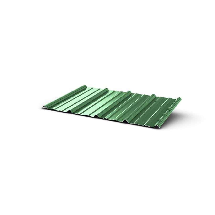 Union Corrugating 3 17 Ft X 12 Ft Ribbed Steel Roof Panel