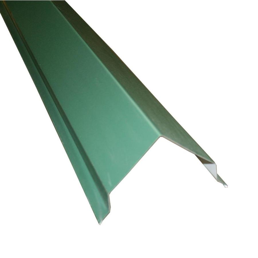 Union Corrugating 14-in x 120-in Green Steel Stick Roof Ridge Vent