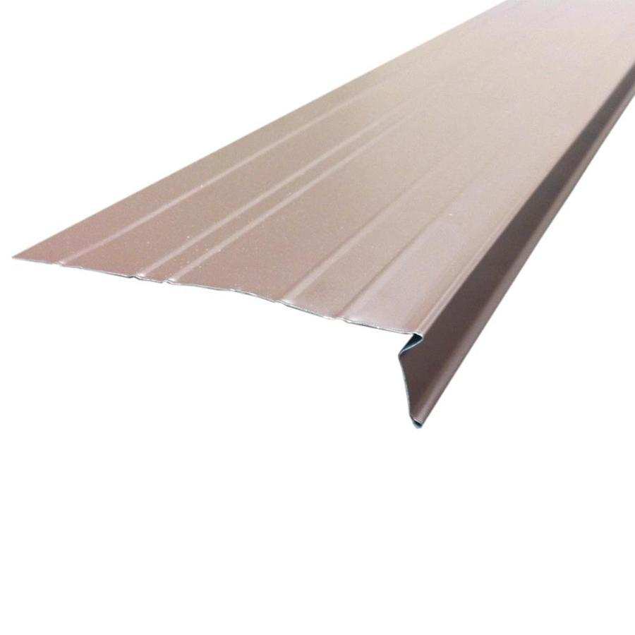 Union Corrugating 5.75-in x 10-ft Aluminum Drip Edge