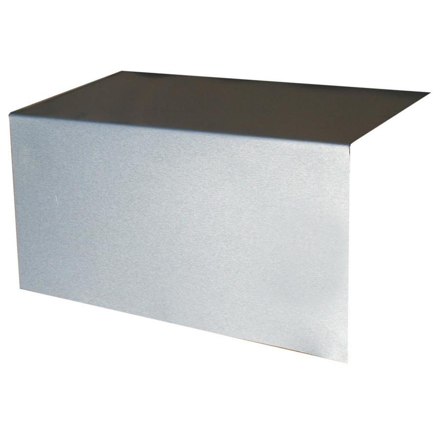 Union Corrugating 8-in x 8-in Aluminum Step Flashing