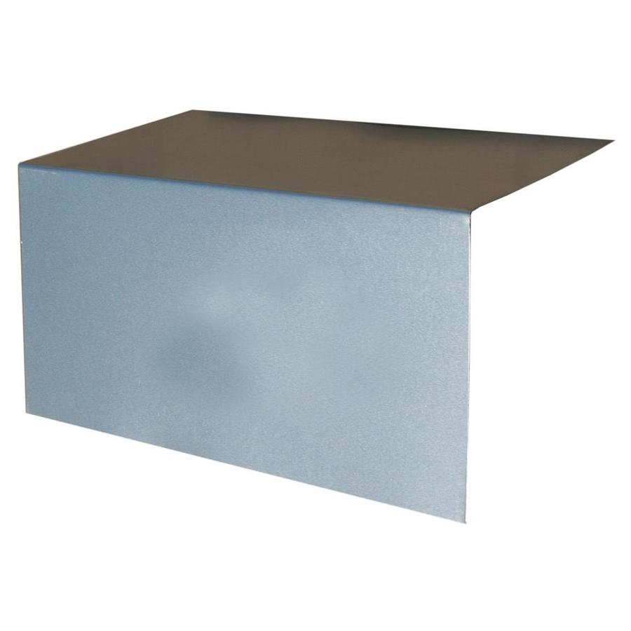 Union Corrugating 8-in x 8-in Aluminum Step Flashing