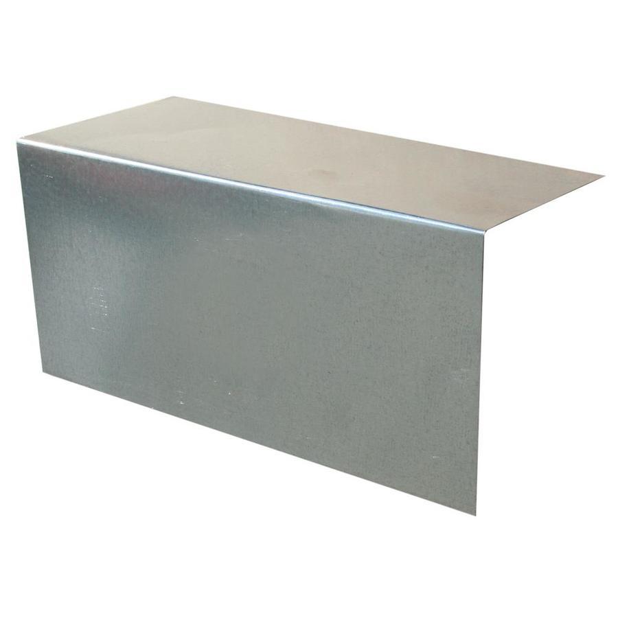 Union Corrugating 8-in x 8-in Galvanized Steel Step Flashing