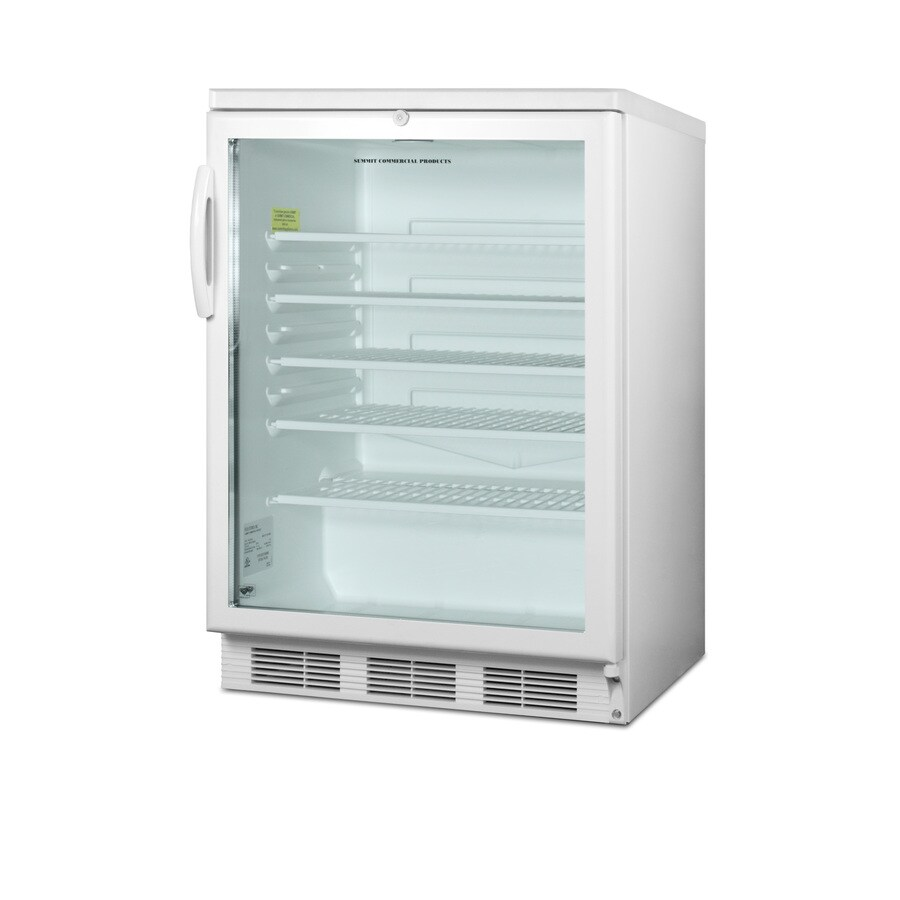 Shop Summit 5.5 Cu. Ft. Commercial Freezerless Refrigerator (Color ...