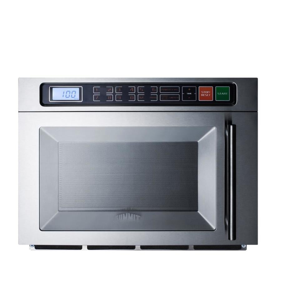 Summit Appliance Summit Commercial 1.1 Cu Ft 1800 Watt Commercial Countertop  Microwave (Stainless