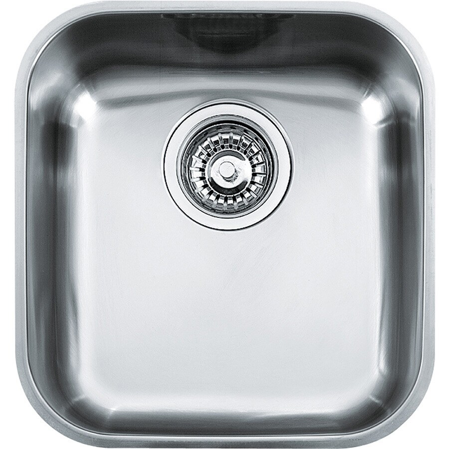Franke Artisan 14.625-in x 13.8125-in Stainless Steel Single-Basin Undermount Residential Kitchen Sink