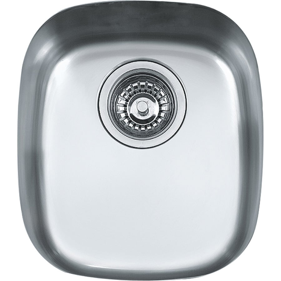 Franke Compact 14.125-in x 12.5-in Single-Basin Stainless Steel Undermount Residential Kitchen Sink