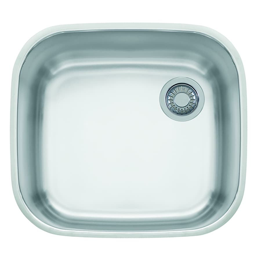 Franke Europro 18.875-in x 20.875-in Single-Basin Stainless Steel Undermount Commercial/Residential Kitchen Sink