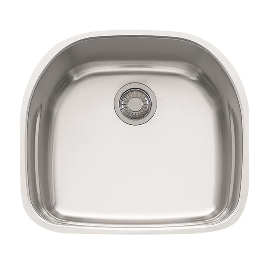 Franke Prestige 19.875-in x 22.25-in Stainless Steel Single-Basin Undermount Residential Kitchen Sink